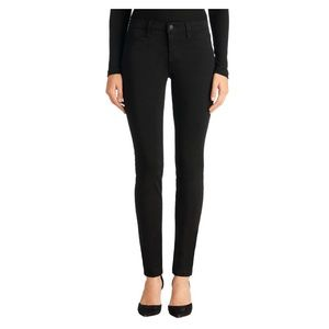 J Brand Luxe Sateen Mid-Rise Super Skinny Jeans